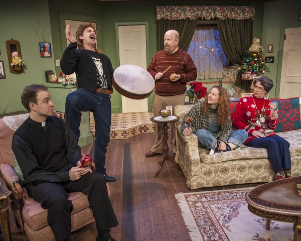 Ryan Halsaver as Tom, Magarin Hobson as Ricky, Dale Young as Bill, Melissa Macleod Herion as Maddie, and Mary Poindexter Williams as Ruthie