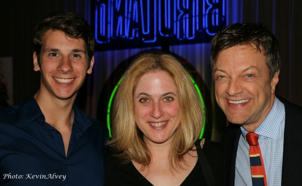 Eric Dietz, Lisa Lambert and Jim Caruso Photo