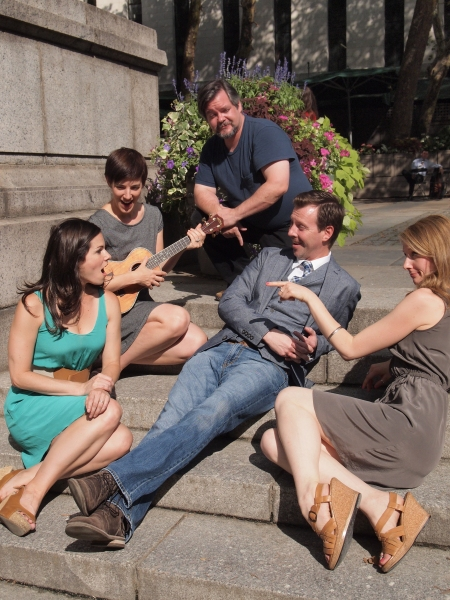 Photo Flash: In Rehearsal with Boomerang Theatre's LOVE'S LABOUR'S LOST in Bryant Park