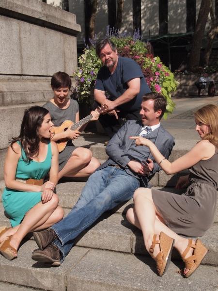 Natalie Roy, Eva Gil, Dan Renkin, Timothy W Hull and Hannah Jane McMurray Photo