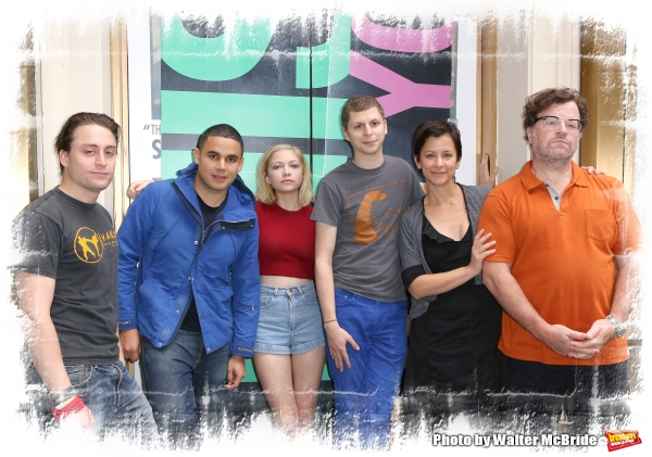FREEZE FRAME: Michael Cera, Kieran Culkin & the Cast of THIS IS OUR YOUTH Meet the Press