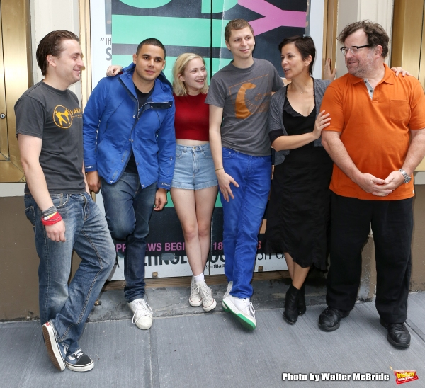 Photo Coverage: Broadway-Bound THIS IS OUR YOUTH Company Poses for the Press at Cort Theatre