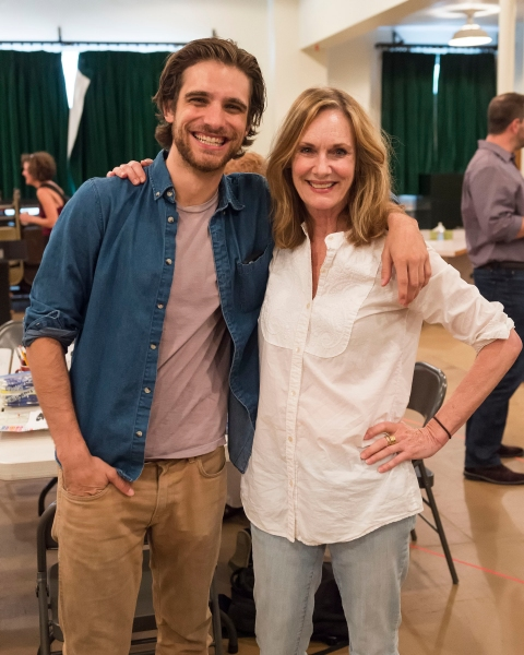 Photo Flash: In Rehearsal for MARJORIE PRIME, Beginning Next Month at CTG/Mark Taper Forum