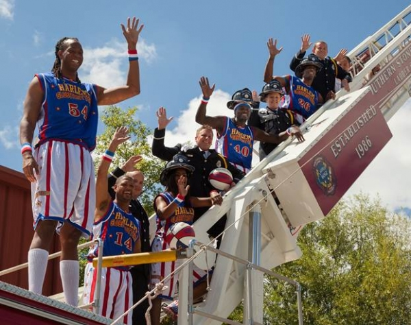 Photo Flash: Harlem Globetrotters Flip Head Over Heels at Silver Dollar City; Show Set for June 2015