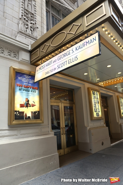 Up on the Marquee: YOU CAN'T TAKE IT WITH YOU