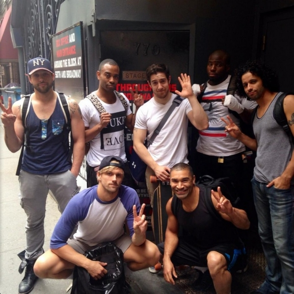 Photo Flash: Saturday Intermission Pics, Aug 16 - ROCKY Says Farewell and More!