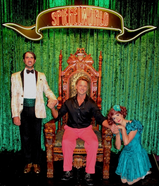 Photo Flash: TV Star John Schneider Attends ABSINTHE at Caesars Palace