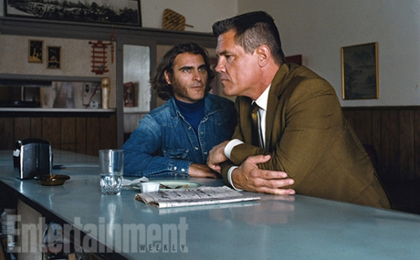 Photo Flash: First Look- Joaquin Phoenix and Josh Brolin in INHERENT VICE