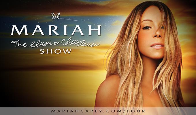 MARIAH CAREY Announces 'The Elusive Chanteuse Show' World Tour!