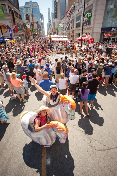 Photo Flash: First Look at the 15th Annual Scotiabank BuskerFest, 8/21-24