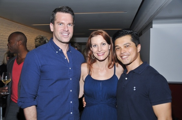 Thomas Roberts, Rachel York, Vincent Rodriguez III Photo