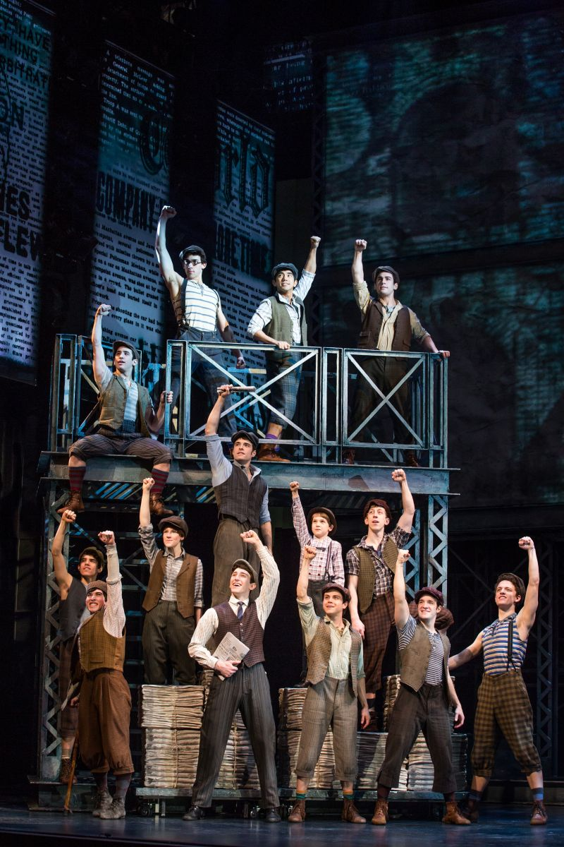Last Edition: NEWSIES Stars Recall Favorite Memories- Tommy Martinez
