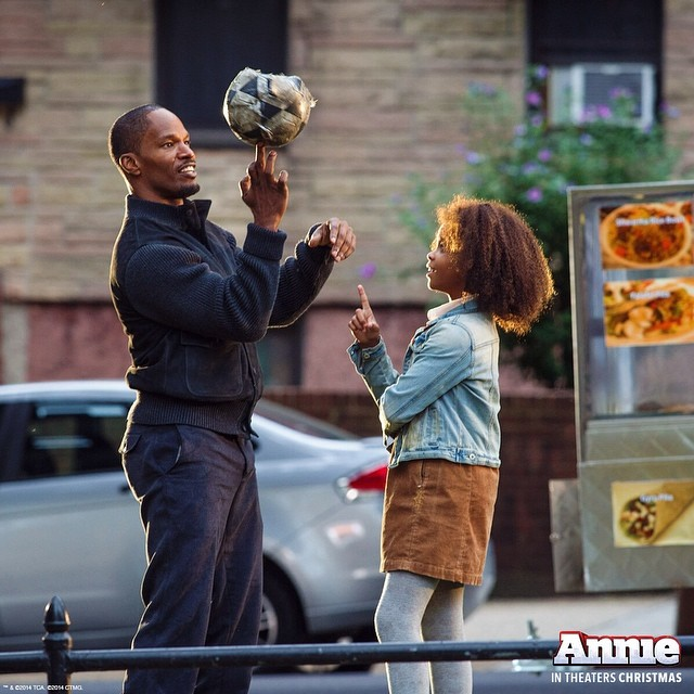 New Production Photo From ANNIE Remake Released