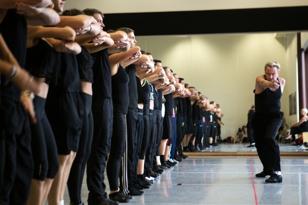 Photo Flash: First Look at London Palladium's DANGEROUS GAMES in Rehearsal