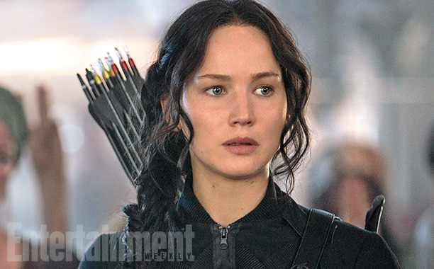 First Look - Jennifer Lawrence Stars as 'Katniss' in HUNGER GAMES: MOCKINGJAY PART I