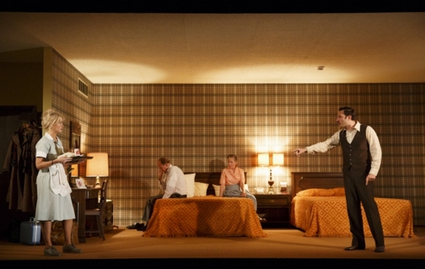 Photo Flash: First Look at Signature Theatre's THE WAYSIDE MOTOR INN with Marc Kudisch, Rebecca Henderson & More