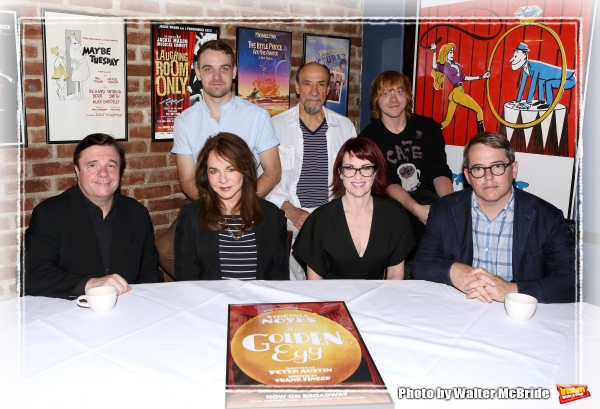 FREEZE FRAME: The All-Star Cast of Broadway's IT'S ONLY A PLAY Meets the Press!