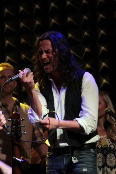 Constantine Maroulis Talks & Sings ROCK OF AGES Live