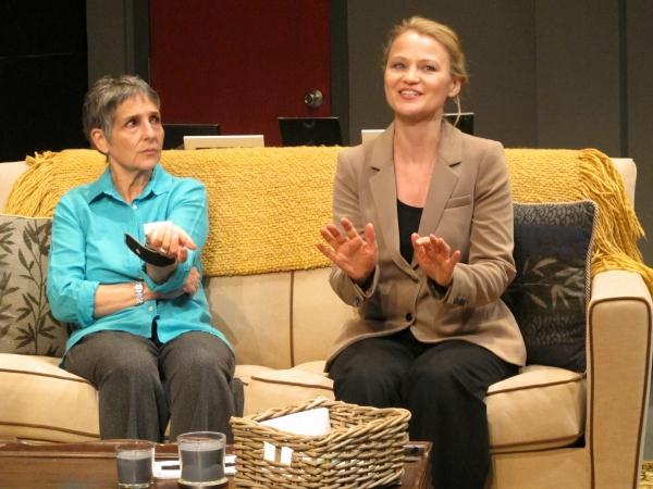 Loni Ackerman and Celia Schaefer