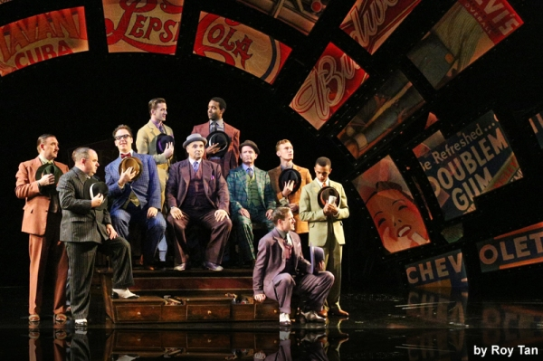 Photo Coverage: First Look Jamie Parker, Clare Foster and More in GUYS AND DOLLS at Chichester