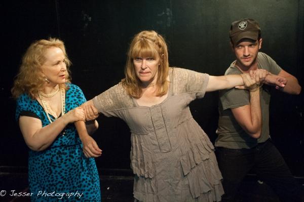 Rutanya Alda, Leslie Caveny and Matt Scanlon