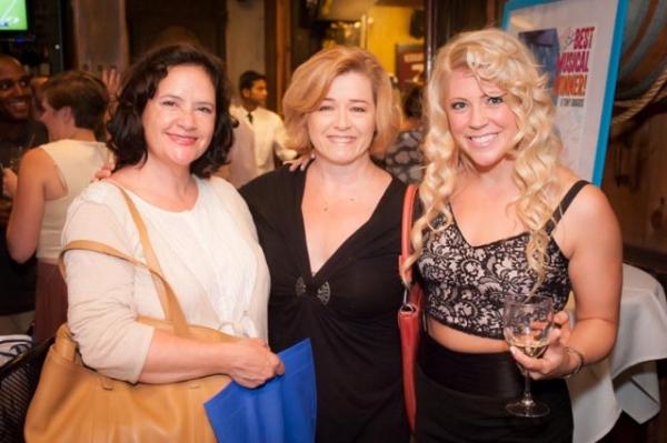 Mimi Bessette, Leslie Baker, and Erin Sullivan