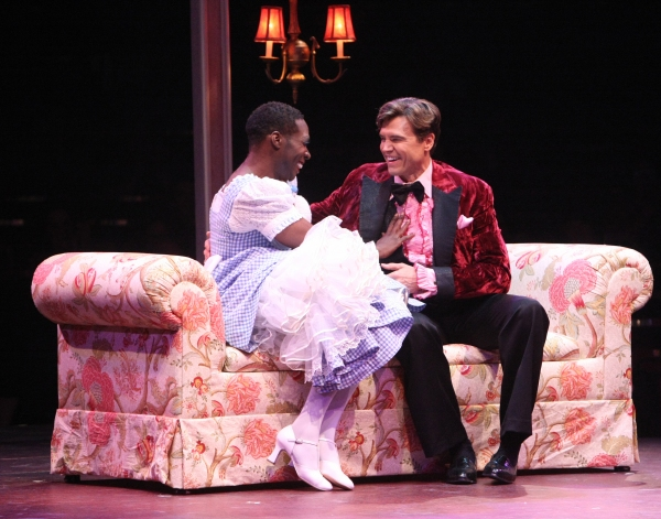 Photo Flash: First Look at Brent Barrett, Alan Mingo Jr., Kevin Cooney and More in LA CAGE AUX FOLLES at Music Circus