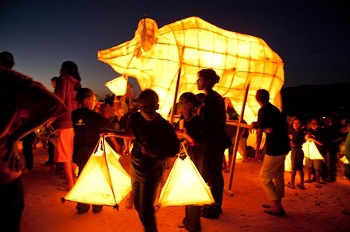 The Clanwilliam Arts Project Lantern Festival