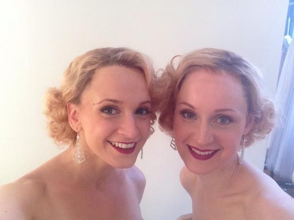 Photo Flash: Erin Davie & Emily Padgett Prep for Broadway-Bound SIDE SHOW's First Photo Shoot