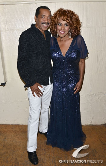 Obba Babatunde and Jennifer Holliday