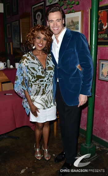 Jennifer Holliday and Erich Bergen