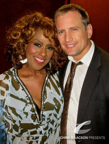 Jennifer Holliday and Chris Isaacson