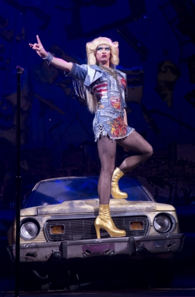 Photo Flash: First Look at Tony Nominee Andrew Rannells in Broadway's HEDWIG AND THE ANGRY INCH!