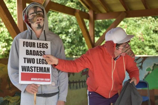 Photo Flash: Sneak Peek at Community Links' REVOLUTION FARM, Playing at Newham City Farm