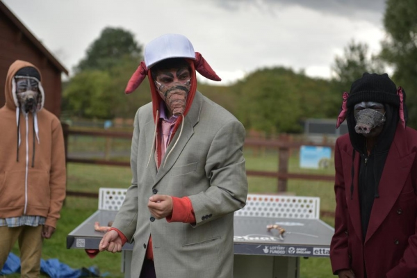 Photo Flash: Sneak Peek at Community Links' REVOLUTION FARM, Playing at Newham City Farm