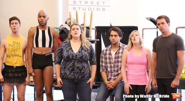 Photo Coverage: Let Them Raise You Up- KINKY BOOTS Tour Cast Gives Performance Preview!
