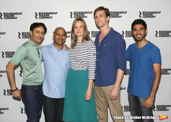 Photo Coverage: Meet the Cast of Roundabout's INDIAN INK