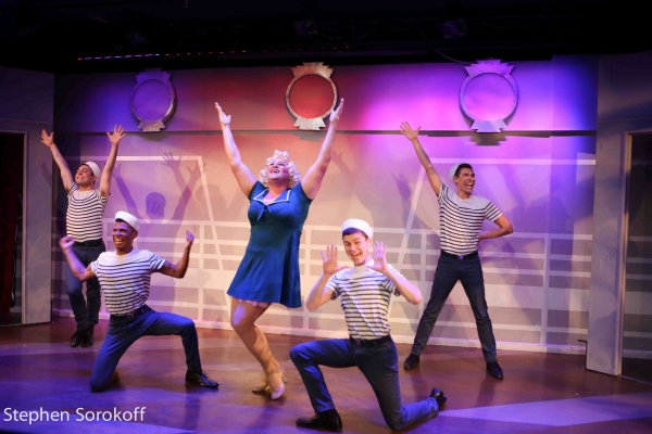 Photo Coverage: In Rehearsal with the Cast of FABULOUS! THE QUEEN OF NEW MUSICAL COMEDIES