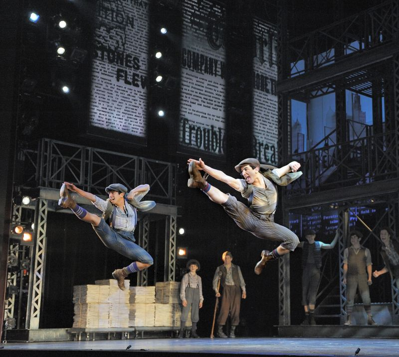 Last Edition: NEWSIES Stars Recall Favorite Memories- Jess LeProtto