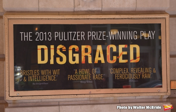 Up on the Marquee: DISGRACED