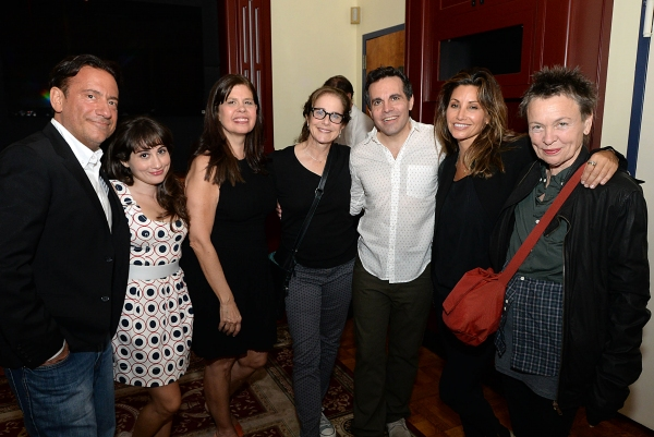 Eugene Pack, Lucy DeVito, Dayle Reyfel, Debra Winger, Mario Cantone, Gina Gershon, Laurie Anderson