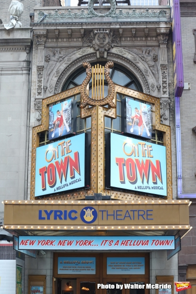 Up on the Marquee: ON THE TOWN at the Newly Named Lyric Theatre