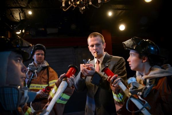 Mike Ooi, Jared Fernley, Robert Kauzlaric, Blair Robertson Photo