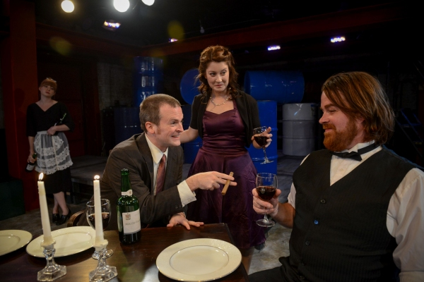 Photo Flash: First Look at Strawdog Theater's THE ARSONISTS