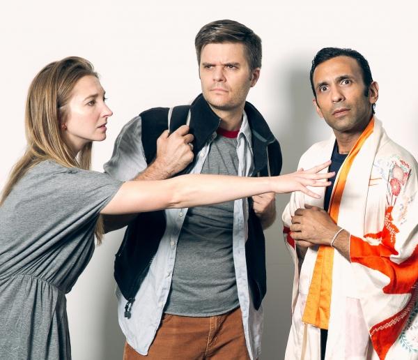 Marta Kuersten, William Franke, Amir Darvish Photo