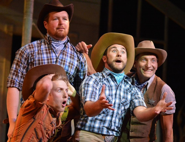 Photo Flash: First Look at Beef & Boards' OKLAHOMA!, Opening Tonight