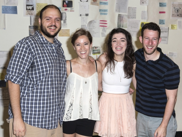 Photo Flash: In Rehearsal with Atlantic Theater's FOUND: A NEW MUSICAL