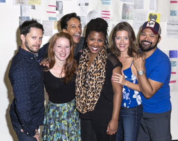 Andrew Call, Molly Pope, Danny Pudi, Christina Anthony, Sandy Rustin and Orville Mend Photo
