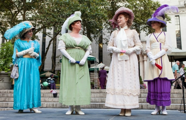 Photo Flash: First Look at Boomerang Theatre's LOVE'S LABOUR'S LOST at Bryant Park