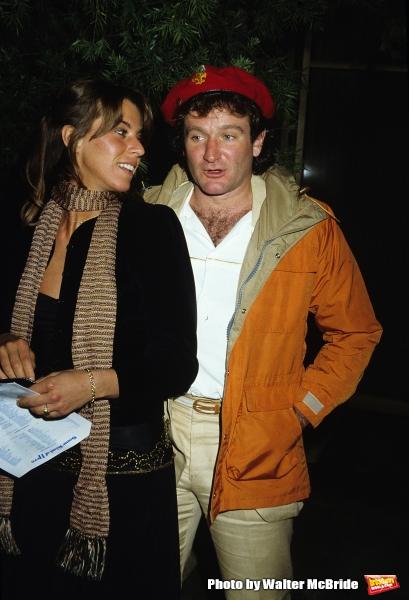 Robin Williams and wife Valerie Velardi pictured in New York City in 1981.